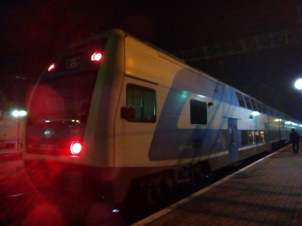 """У Тернопіль приїхав двоповерховий поїзд """"Шкода"""" (фото), фото-1"""