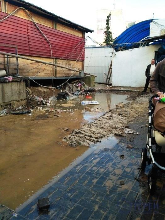 Ринок на вул.Київській у Тернополі затопило (фото), фото-2