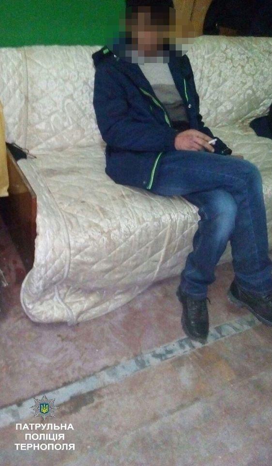 У Тернополі поліцейські оштрафували п'яного комунальника (ФОТО), фото-1