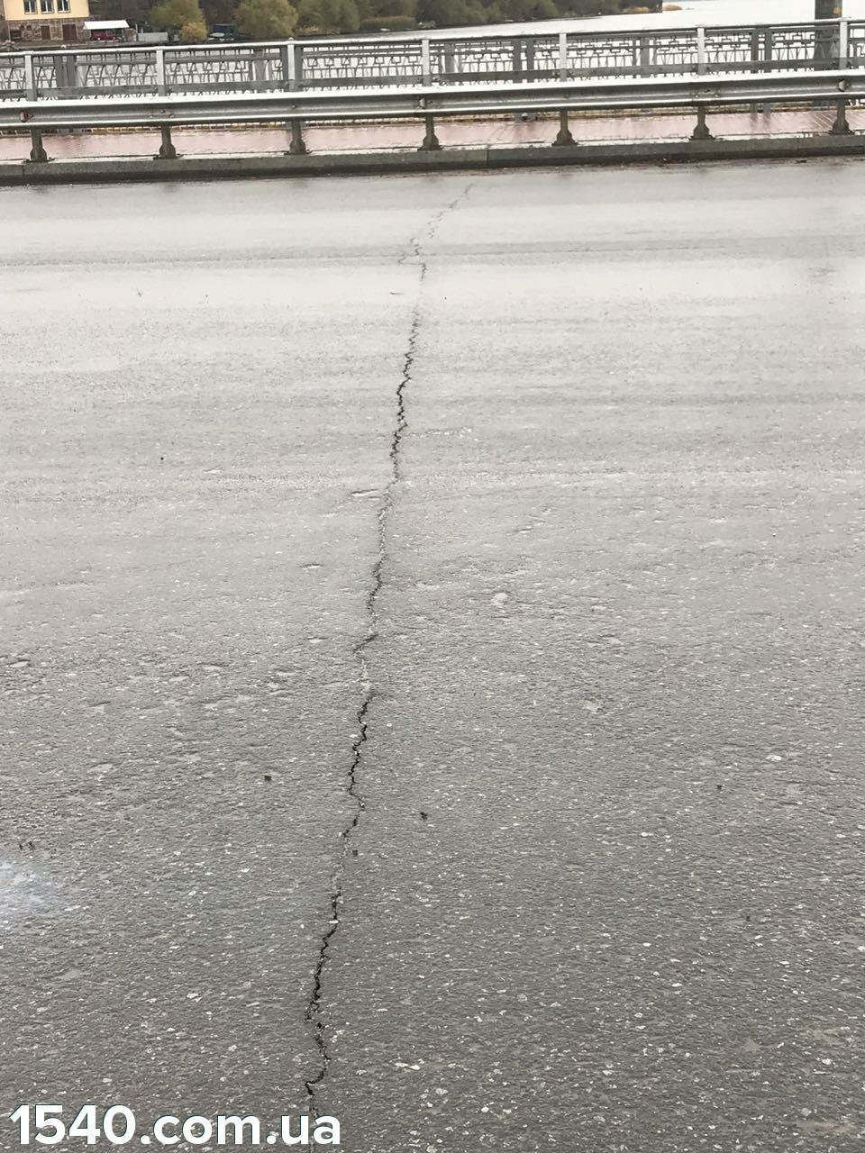 Тернопільська дамба дала тріщину (фото), фото-1