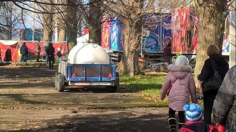 Нечистоти циркачі зливають просто у Тернопільський став (фото), фото-1