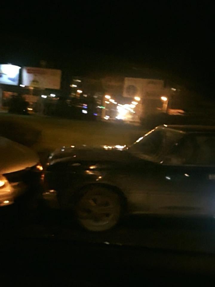 На кільці на Злуки лоб у лоб зіткнулися два авто (фото), фото-1