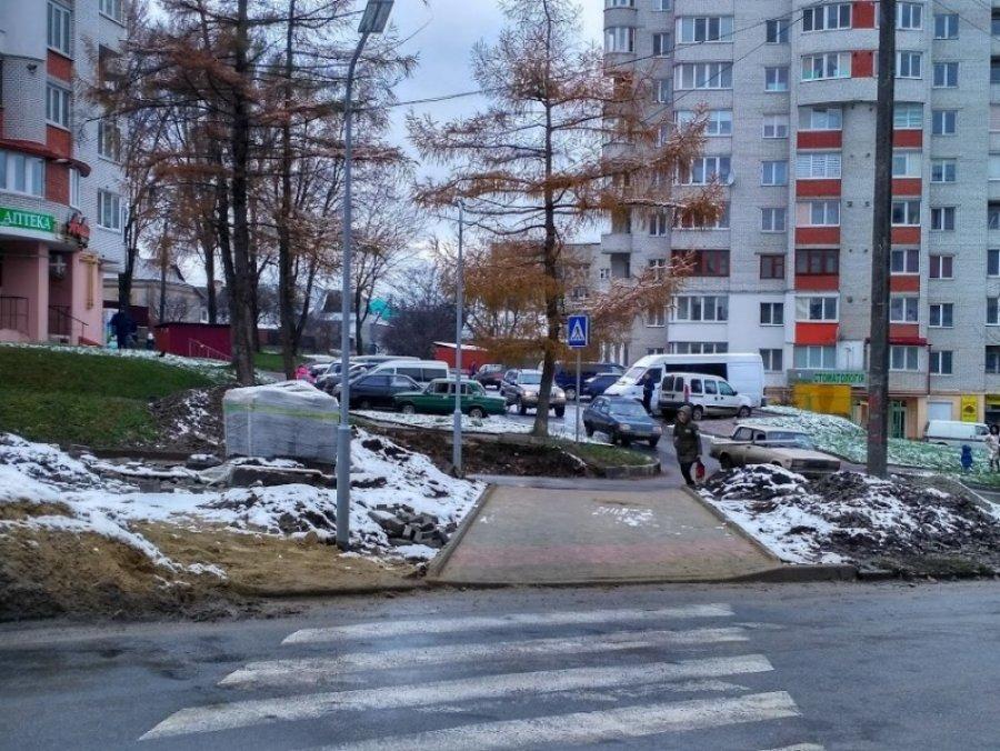 У Тернополі облаштували новий пішохідний перехід (ФОТО), фото-1