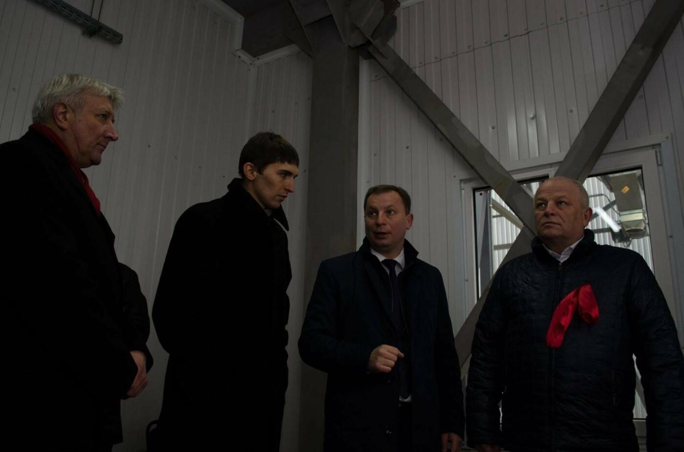 На Тернопільщині відкрили потужний комплекс для зберігання зерна (Фото), фото-1