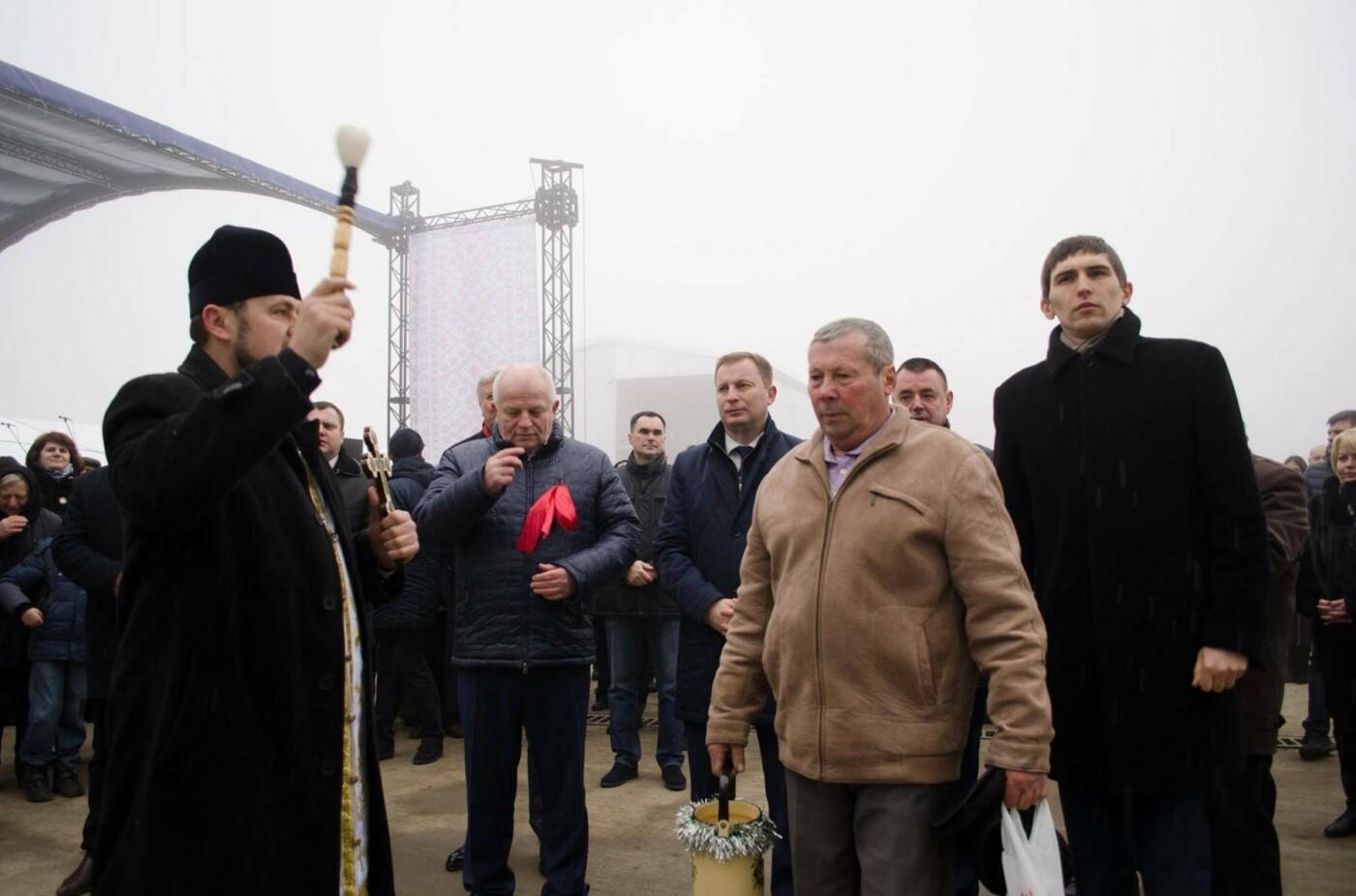 На Тернопільщині відкрили потужний комплекс для зберігання зерна (Фото), фото-2