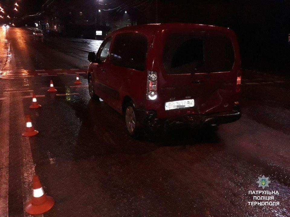 В центрі Тернополя через п'яного водія сталася ДТП (фото), фото-1