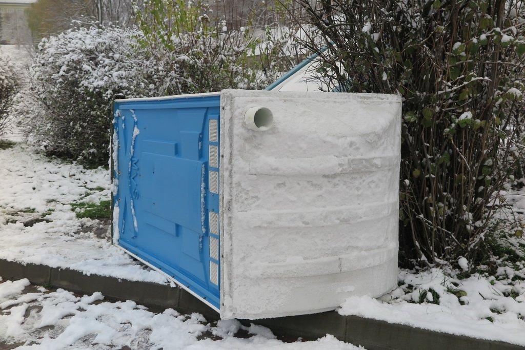 Туалети біля Тернопільського ставу стали черговими жертвами вандалів (фото), фото-1