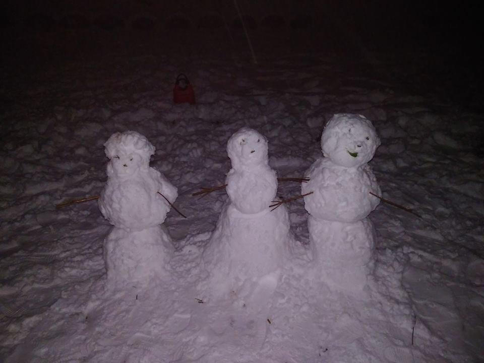 Доки комунальники чистять вулиці, тернополяни міряються сніговиками (фото), фото-6