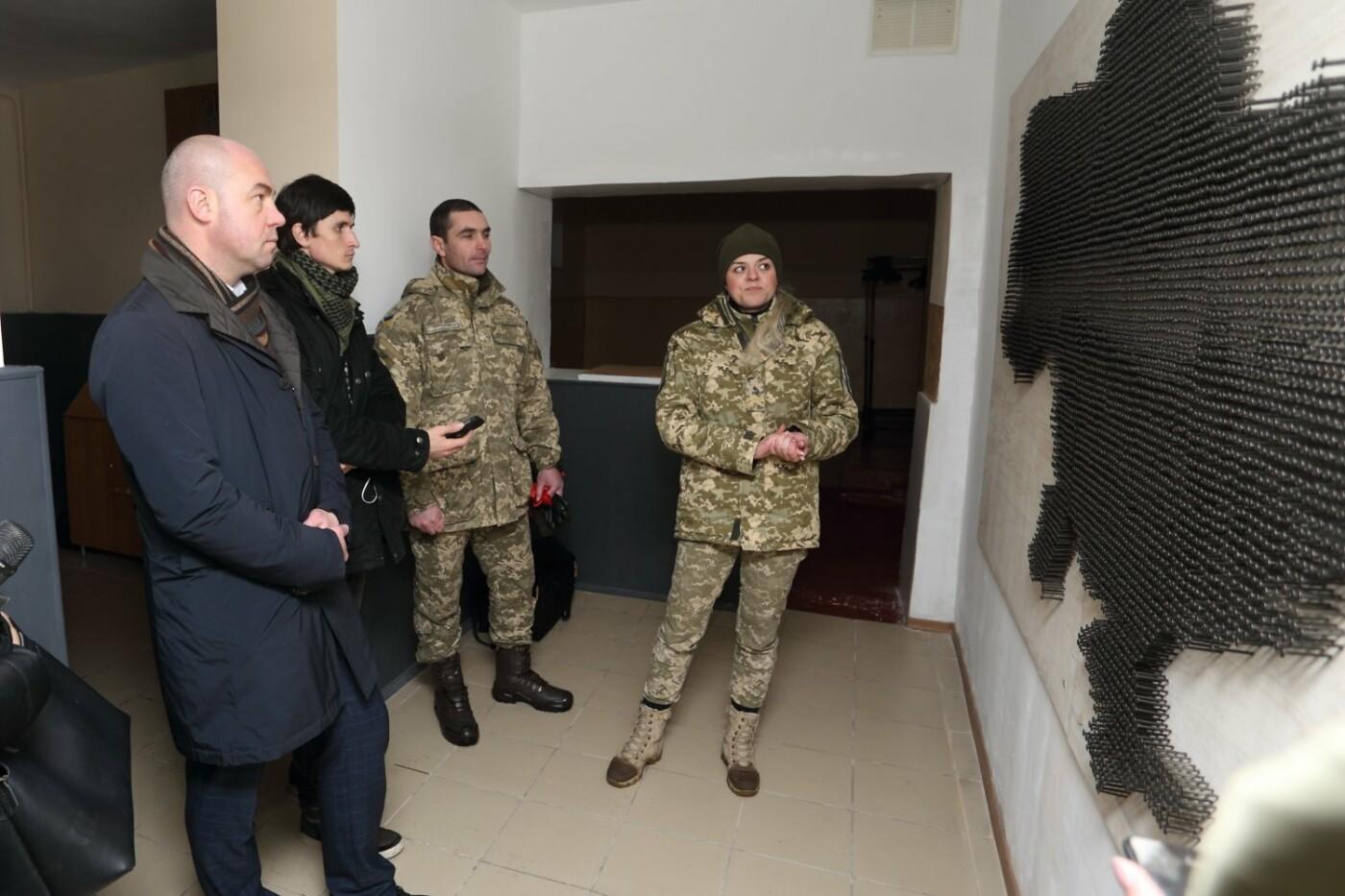 У тернопільській військовій частині відкрили першу в країні  арт-студію , фото-3