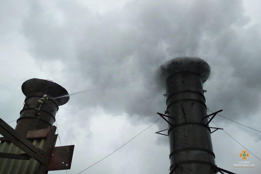 На Тернопільщині сталася пожежа на цукровому заводі (фото), фото-2