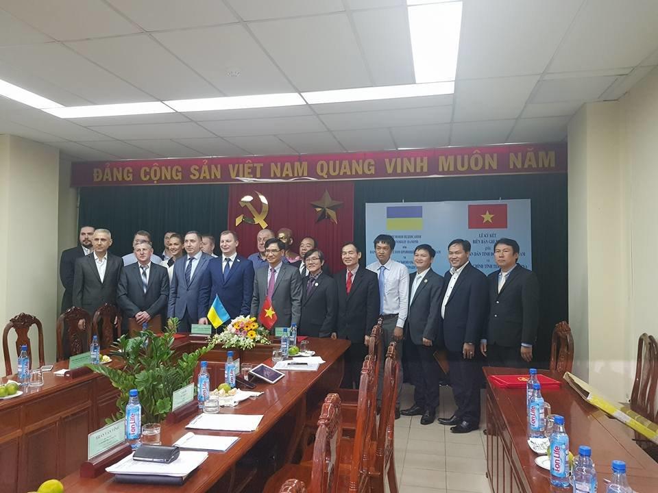 Підписано меморандум про співпрацю в розвитку індустріальних парків між провінцією Донг Най та Тернопільщиною , фото-1