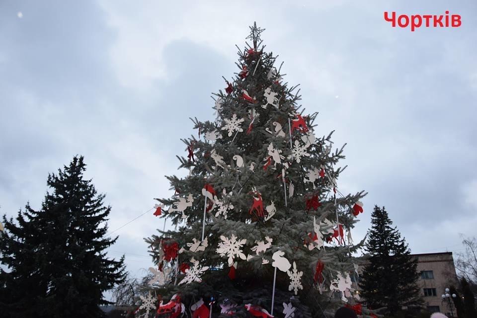 Як виглядають головні ялинки найбільших райцентрів Тернопільщини (ФОТО), фото-1