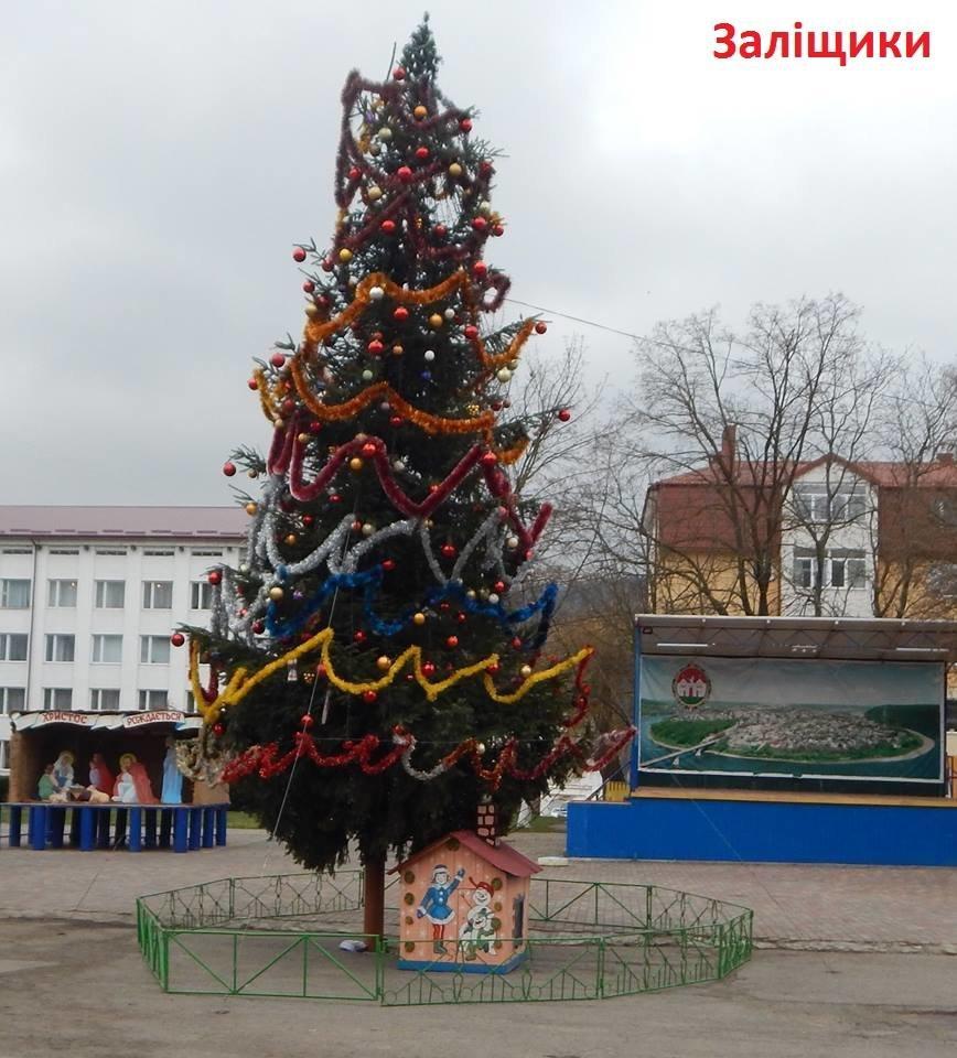 Як виглядають головні ялинки найбільших райцентрів Тернопільщини (ФОТО), фото-3