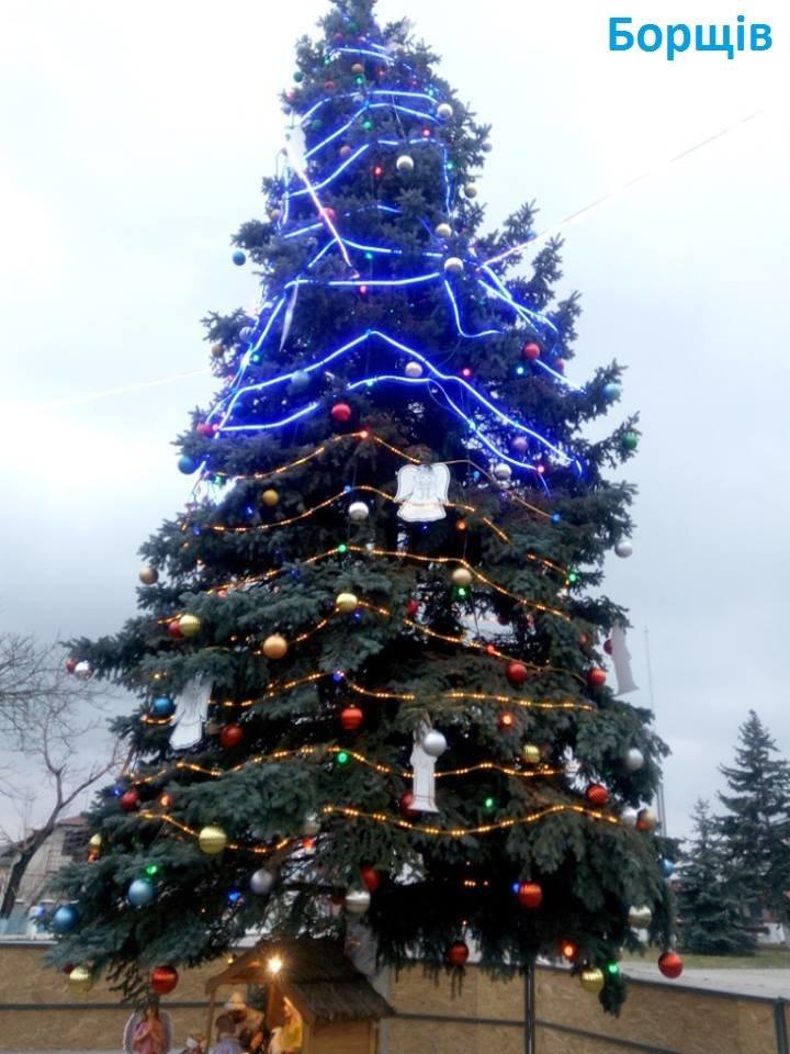 Як виглядають головні ялинки найбільших райцентрів Тернопільщини (ФОТО), фото-6