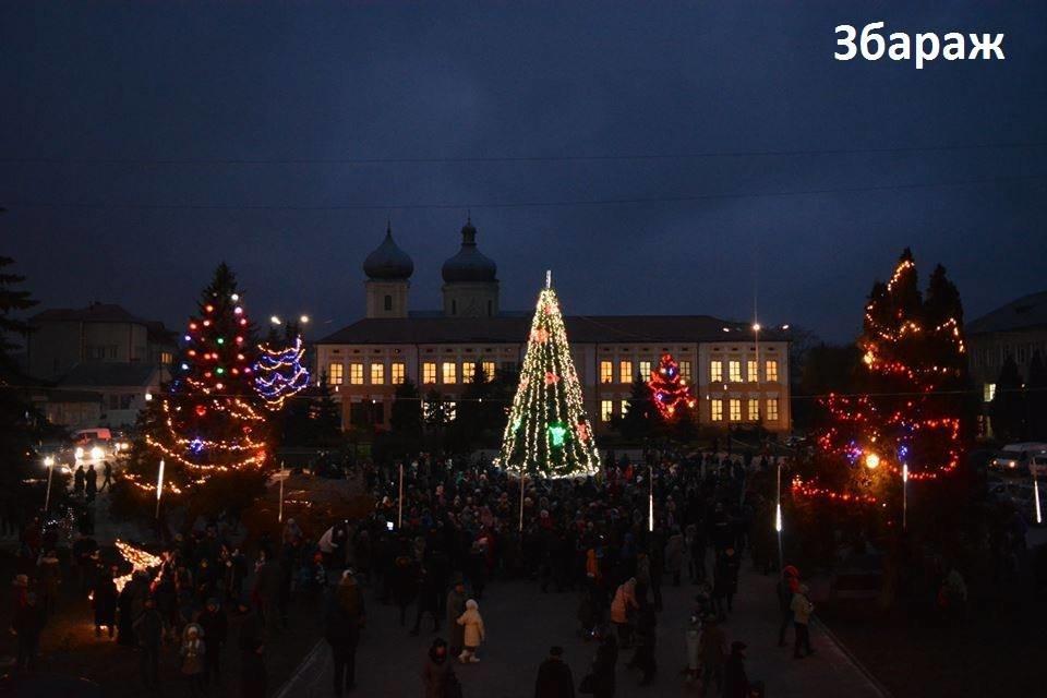 Як виглядають головні ялинки найбільших райцентрів Тернопільщини (ФОТО), фото-2