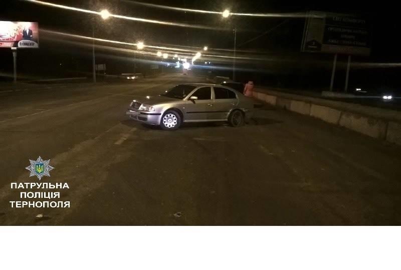 У Тернополі вщент п'яний водій спричинив ДТП (фото), фото-2