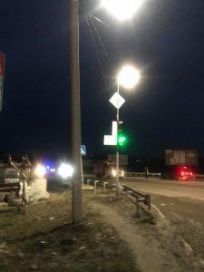 В результаті ДТП у Тернополі зіткнулись 5 авто, а бензовоз в'їхав у стовп (фото), фото-1