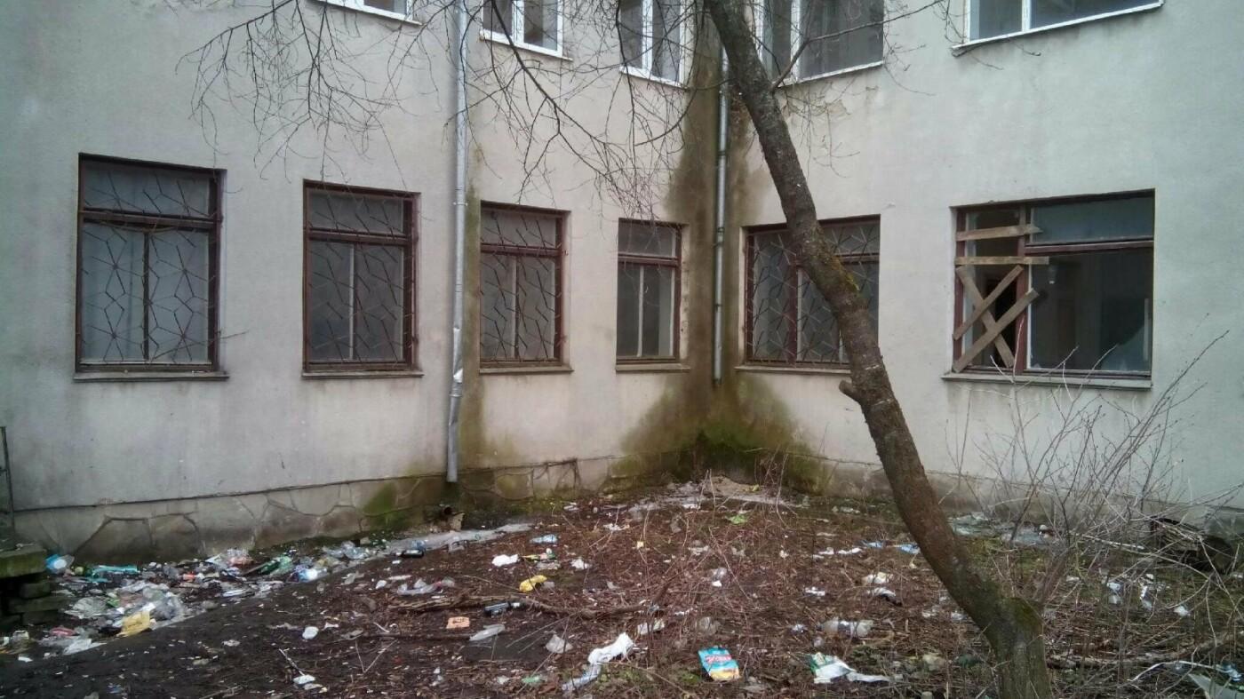 На території колишнього тернопільського дитсадка тепер промишляють наркомани (фото), фото-3