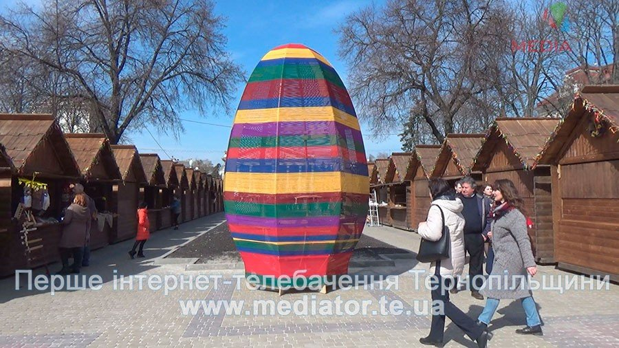 Запровадженням Великоднього ярмарку у Тернополі жителі і гості міста задоволені (фото), фото-2
