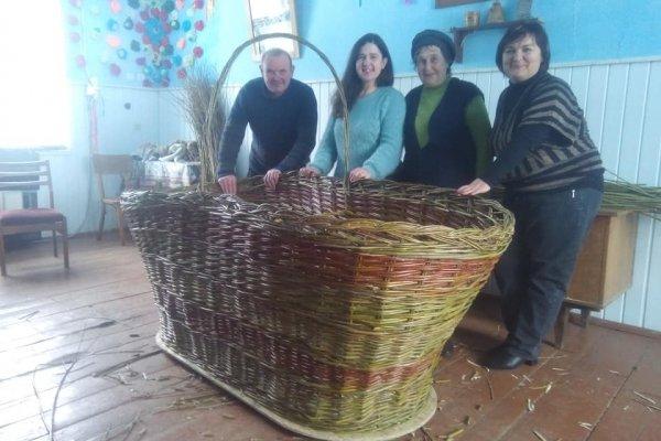 На Тернопільщині створили найбільший в Україні великодній кошик (ФОТО), фото-3