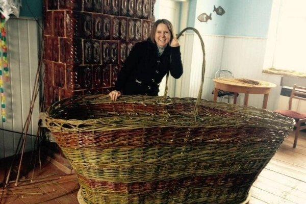На Тернопільщині створили найбільший в Україні великодній кошик (ФОТО), фото-1