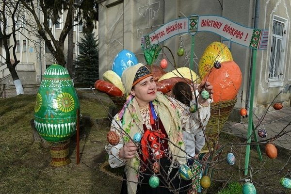 На Тернопільщині створили найбільший в Україні великодній кошик (ФОТО), фото-7