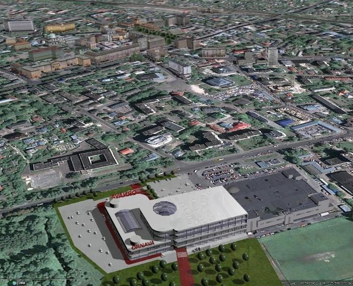 Майже у центрі Тернополя побудують ще один басейн і каток (фото), фото-1