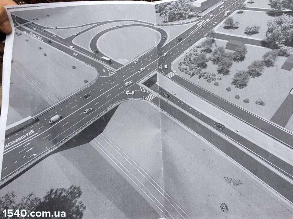 Жителі Тернополя розкритикували проект нової розв'язки біля Гаївського моста (фото), фото-1