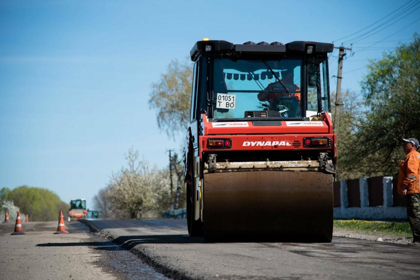 Степан Барна перевірив хід ремонтних робіт стратегічної магістралі М-19 Тернопіль – Кременець (фото), фото-2