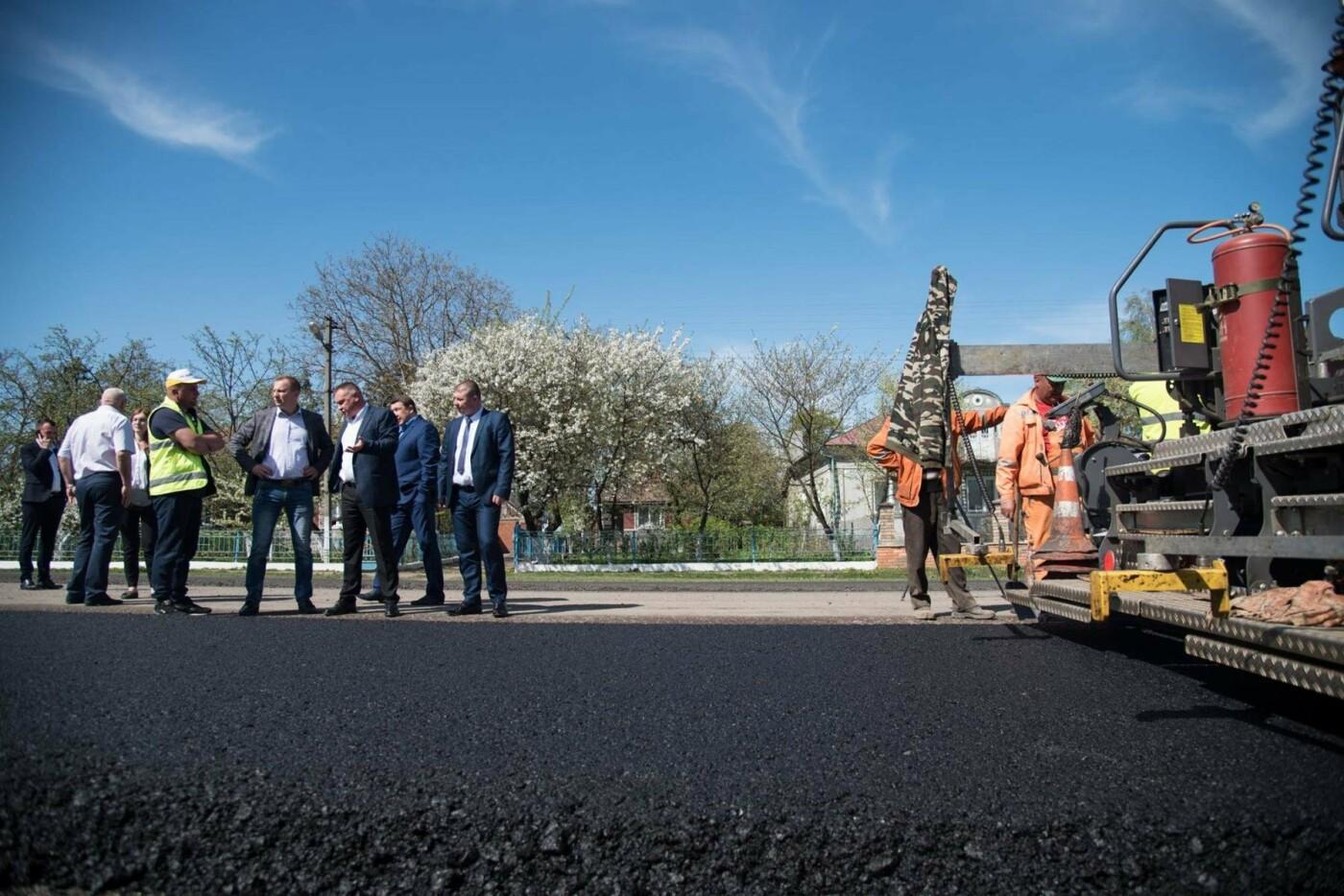 Степан Барна перевірив хід ремонтних робіт стратегічної магістралі М-19 Тернопіль – Кременець (фото), фото-3