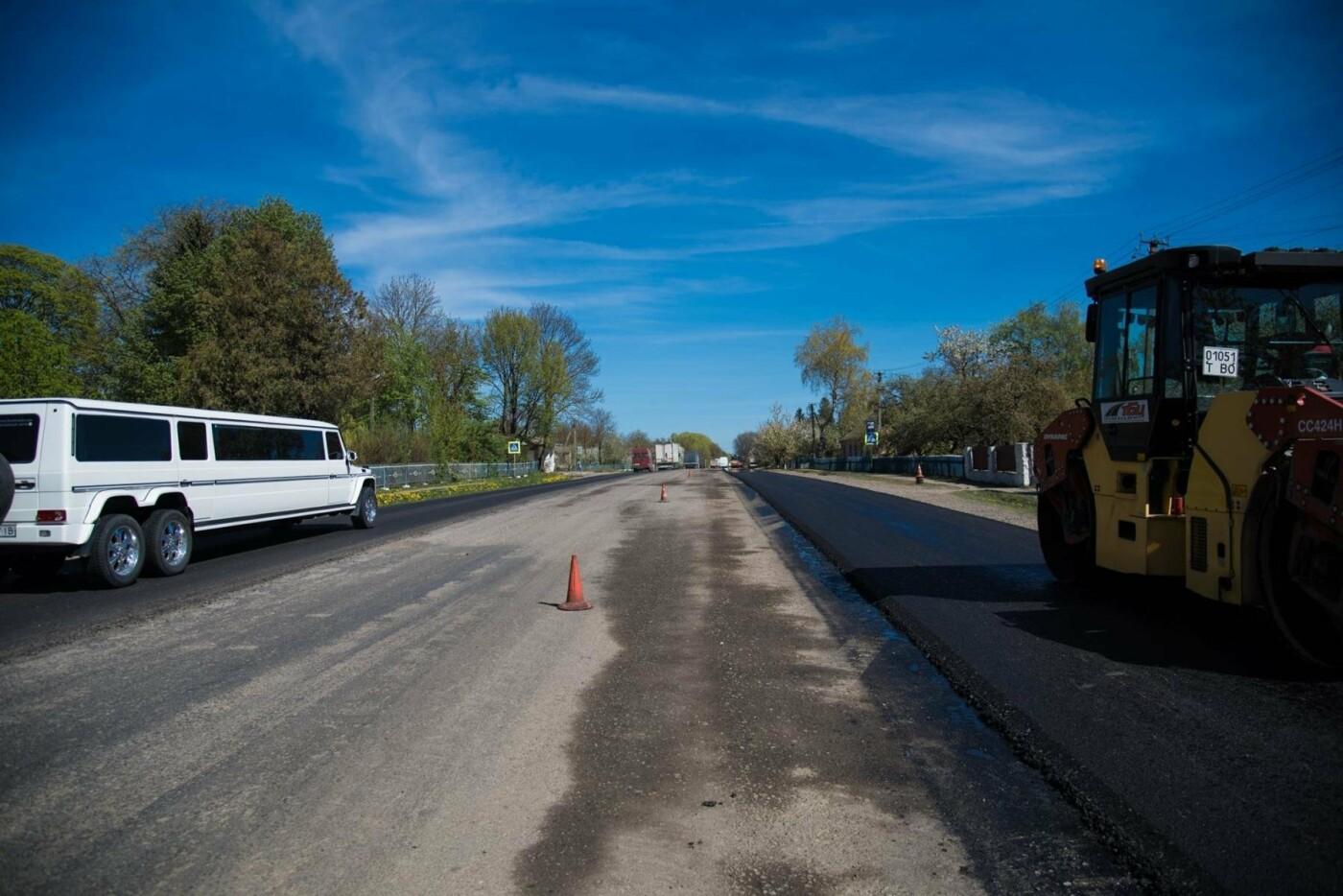 Степан Барна перевірив хід ремонтних робіт стратегічної магістралі М-19 Тернопіль – Кременець (фото), фото-4