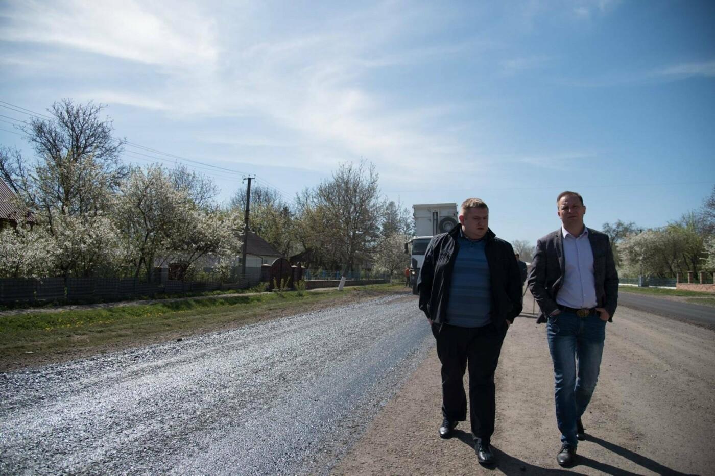 Степан Барна перевірив хід ремонтних робіт стратегічної магістралі М-19 Тернопіль – Кременець (фото), фото-5