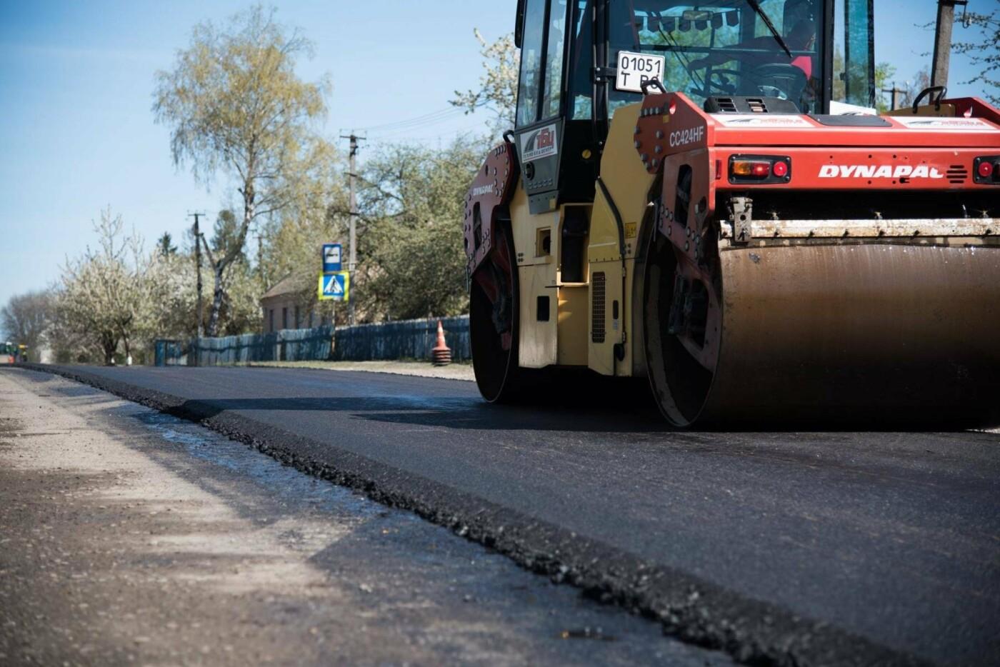 Степан Барна перевірив хід ремонтних робіт стратегічної магістралі М-19 Тернопіль – Кременець (фото), фото-6