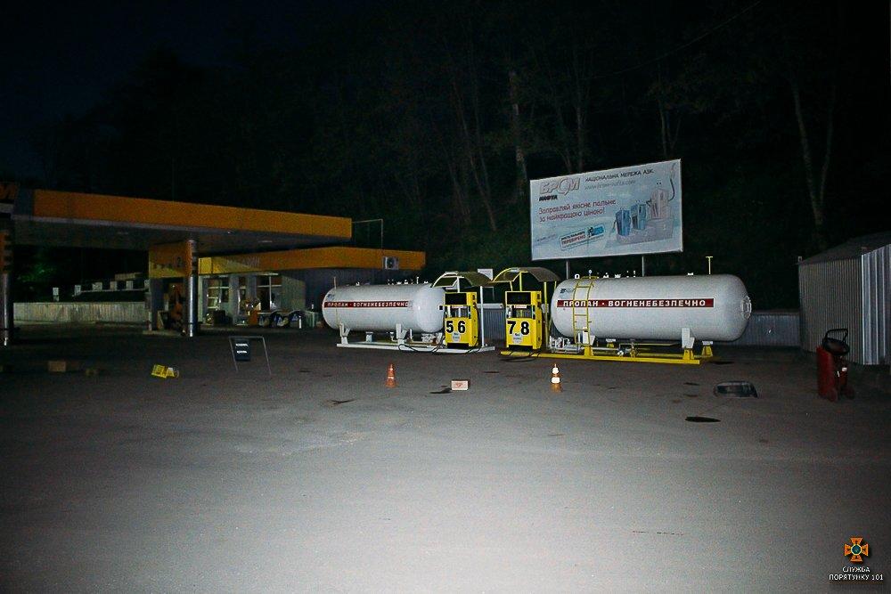 У Тернополі стався витік газу на одній із АЗС (фото), фото-2