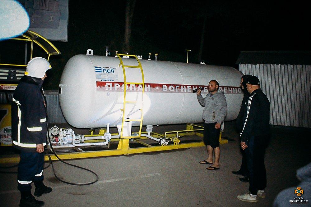 У Тернополі стався витік газу на одній із АЗС (фото), фото-6
