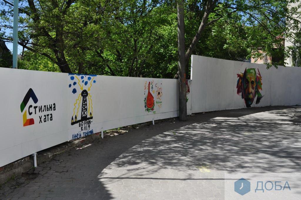 Портрет Ейнштейна та великий космонавт прикрасили стіни Тернополя (фото), фото-4