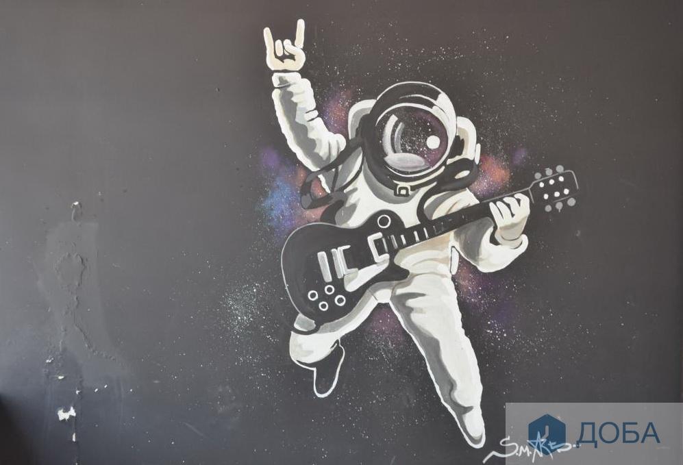 Портрет Ейнштейна та великий космонавт прикрасили стіни Тернополя (фото), фото-1