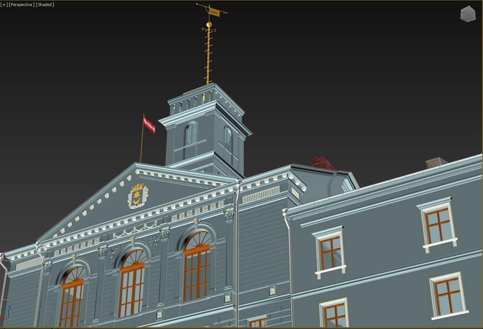Тернополянам показали проект відбудови втраченої ратуші та магістрату (фото), фото-1