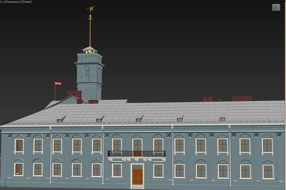 Тернополянам показали проект відбудови втраченої ратуші та магістрату (фото), фото-2