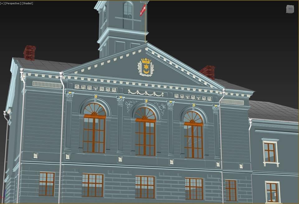 Тернополянам показали проект відбудови втраченої ратуші та магістрату (фото), фото-3