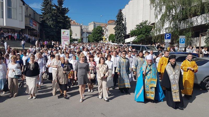 У Тернополі відбувся молитовний похід на захист сім'ї (фото, відео), фото-5