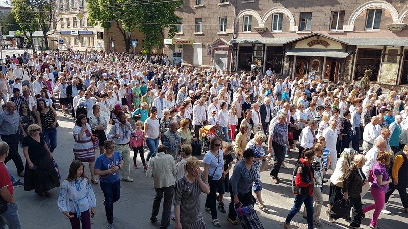 У Тернополі відбувся молитовний похід на захист сім'ї (фото, відео), фото-6