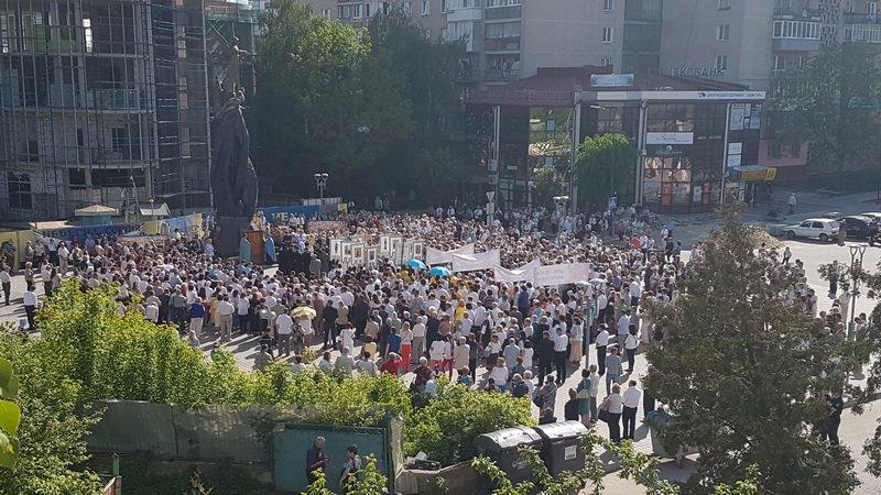 У Тернополі відбувся молитовний похід на захист сім'ї (фото, відео), фото-2