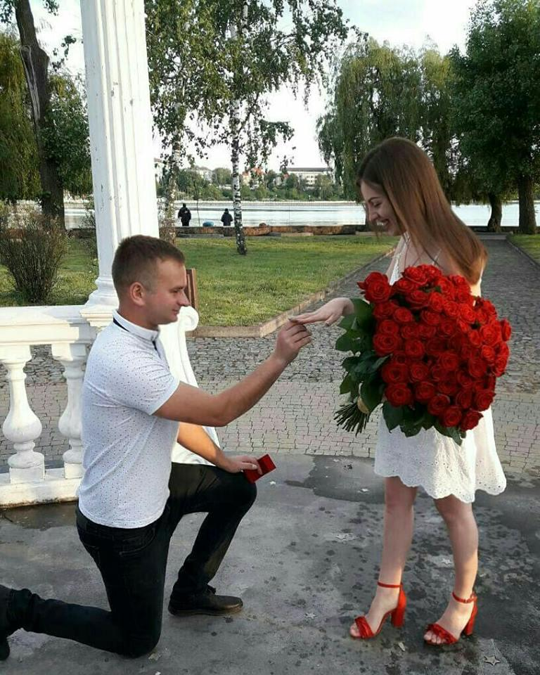 """Букет троянд та довгоочікуване """"так"""", — освідчення у Тернополі на """"Острівку кохання"""" (ФОТО+ВІДЕО), фото-1"""