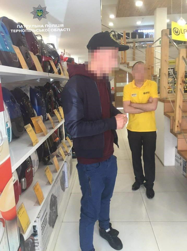 В Тернополі продавець спіймала серійного крадія, фото-1