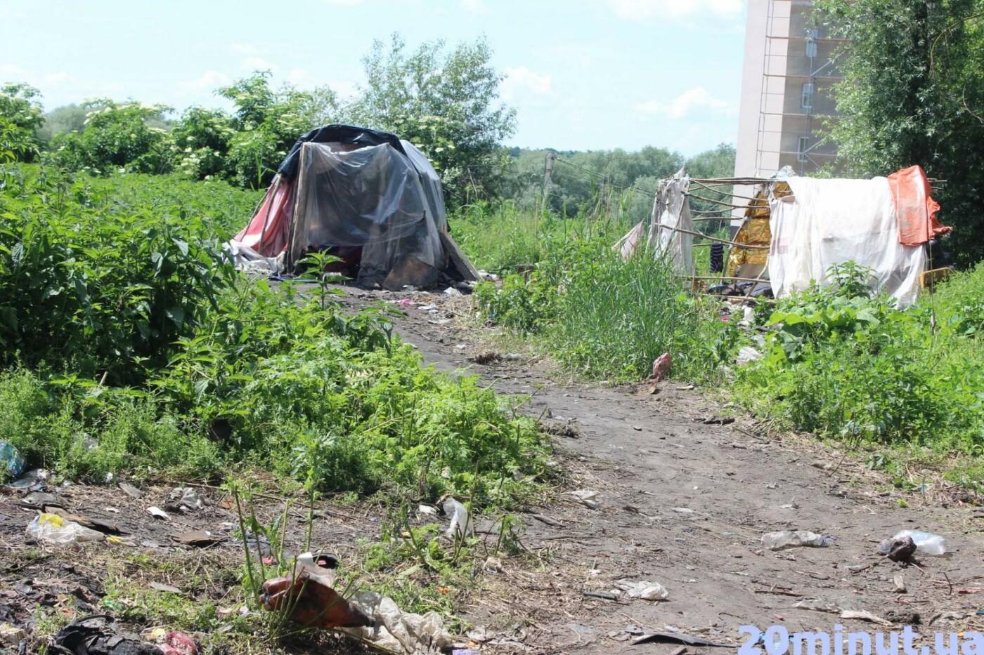 Роми з двох таборів, які жили в лісі неподалік Тернополя, поїхали у невідомому напрямку (ФОТО), фото-4
