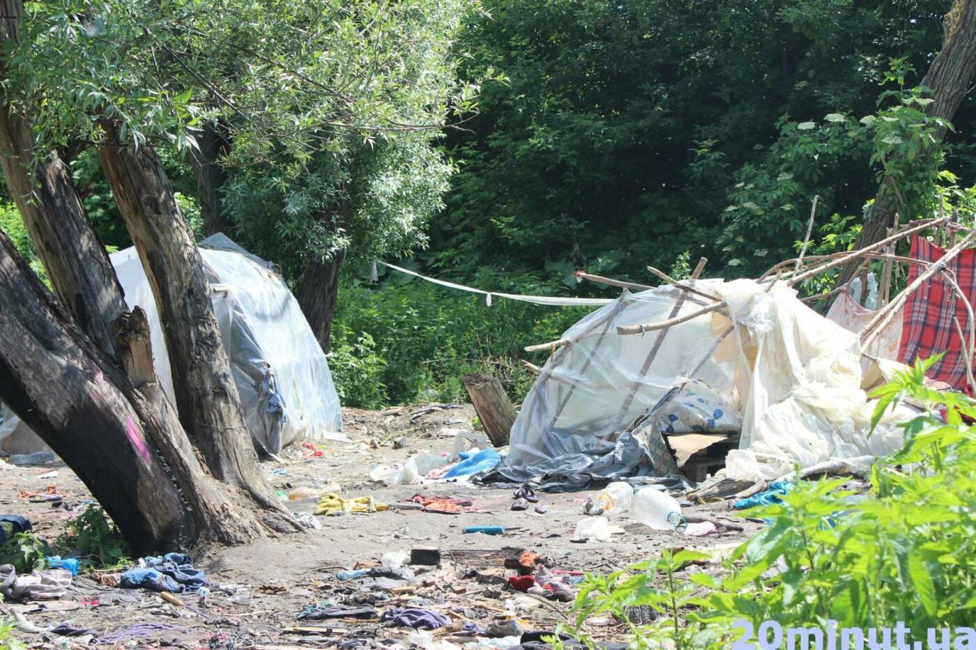 Роми з двох таборів, які жили в лісі неподалік Тернополя, поїхали у невідомому напрямку (ФОТО), фото-1