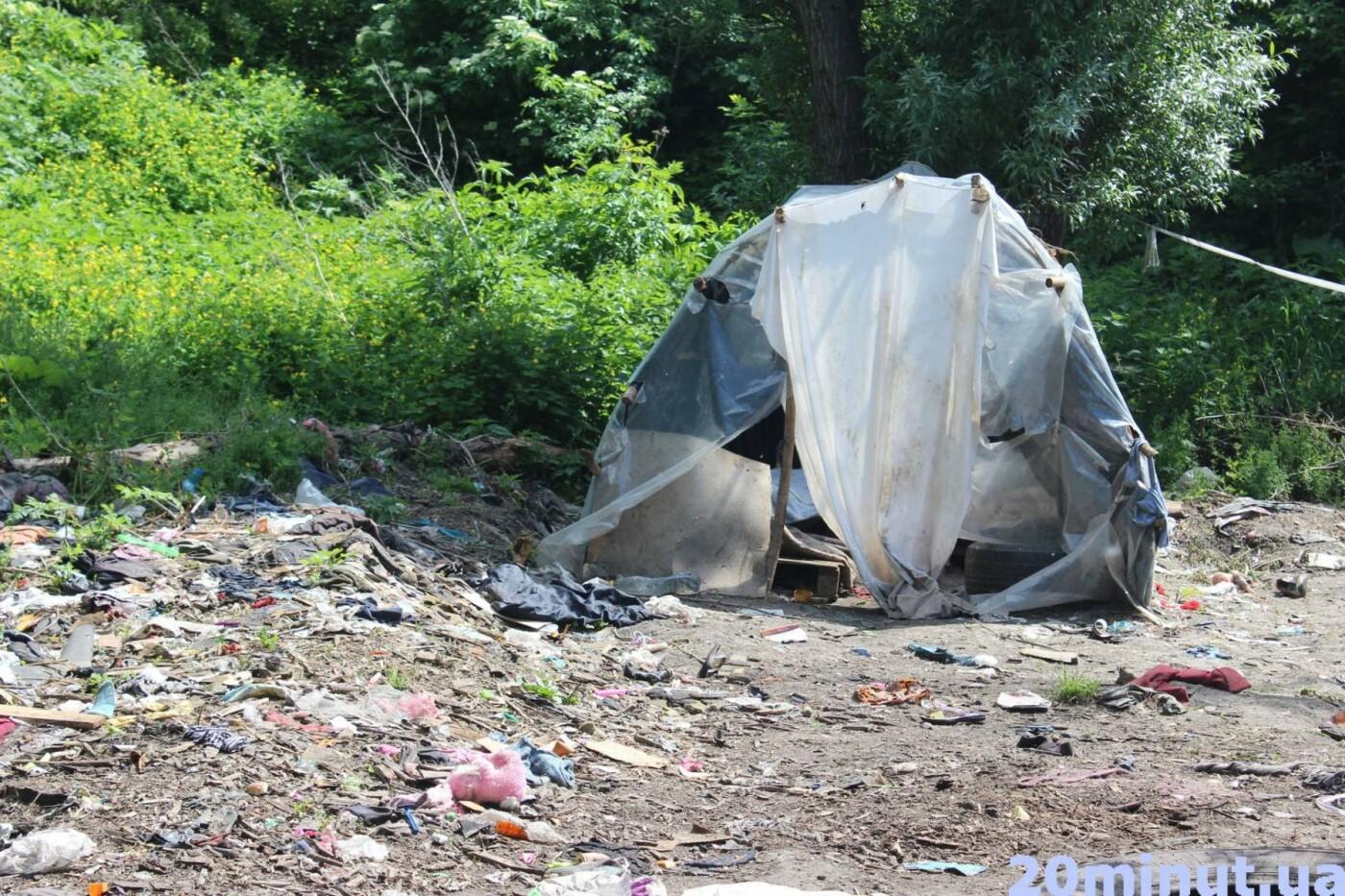 Роми з двох таборів, які жили в лісі неподалік Тернополя, поїхали у невідомому напрямку (ФОТО), фото-6