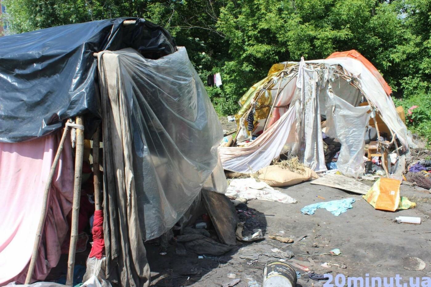 Роми з двох таборів, які жили в лісі неподалік Тернополя, поїхали у невідомому напрямку (ФОТО), фото-8