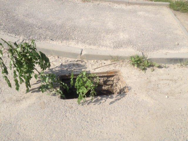 Злодії у Тернополі масово викрадають дощеприймальні решітки (фото), фото-2
